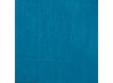 Turquoise Luncheon Napkins, Package of 20 | Whish.ca - Shipping Across Canada