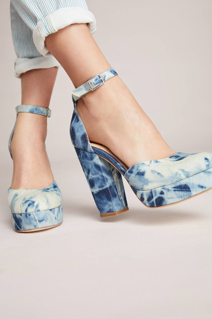 Shop the Bill Blass Ellie Bleached Denim Platform Heels and more Anthropologie at Anthropologie today. Read customer reviews, discover product details and more.