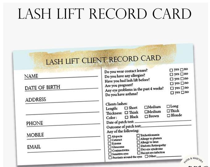 Lash Extensions Guide Printable Eyelash Extensions Technician Guide Eyelash Technician Business Form Lash Extensions Eyelash Technician Lash Lift
