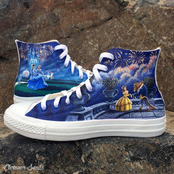 Disney schoenen van ChromaSouls op Etsy
