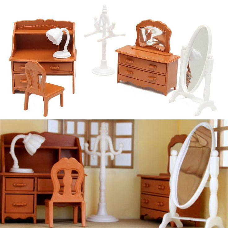 Miniature Living Room Dressing Table
