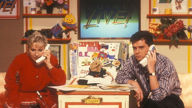 Whatever happened to Saturday morning kids' TV shows from the '70s, '80s and '90s? Joe Godwin from BBC Children's investigates and remembers some of our favourite nostalgia...Going Live, Swap Shop and many more.