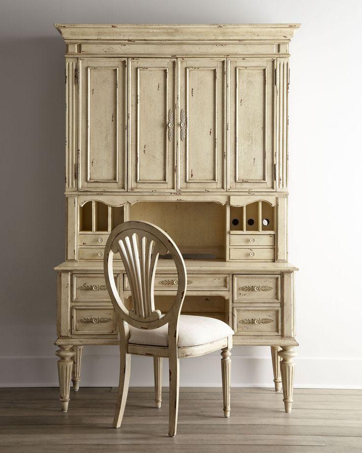 secretary desk with hutch antique new furniture designs secretary pinterest white desk. Black Bedroom Furniture Sets. Home Design Ideas