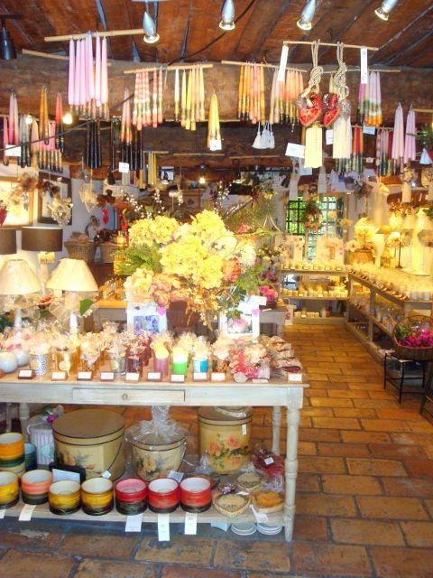 Le Castellet, candles and parfums