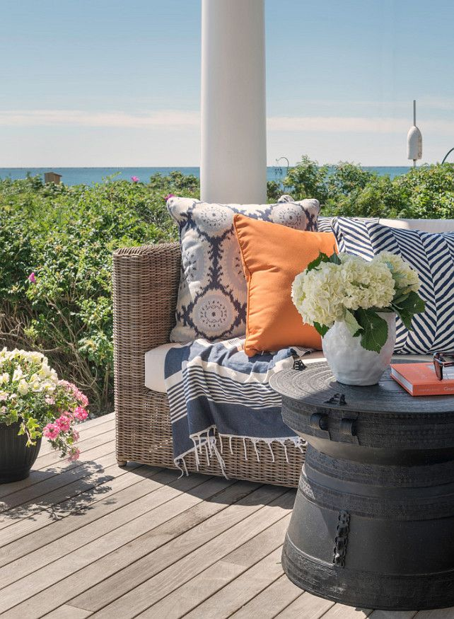 Outdoor Fabric Ideas. Outdoor patio fabric ideas. #Outdoorfabric  Kate Jackson Design.