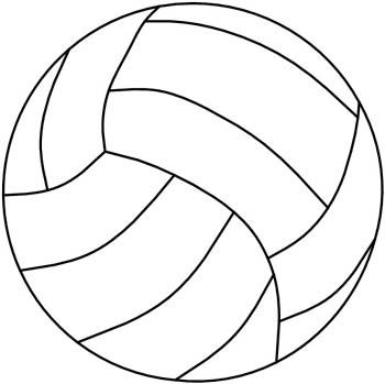 Darryl's Stained Glass Patterns - Volleyball