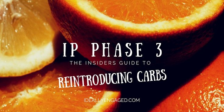 Ideal Protein Phase 3: Reintroducing Carbs -- The Phase Three worksheet says that the shift from Phase Two to Phase Three is the reintroduction of fat and carbs at breakfast to restart the…