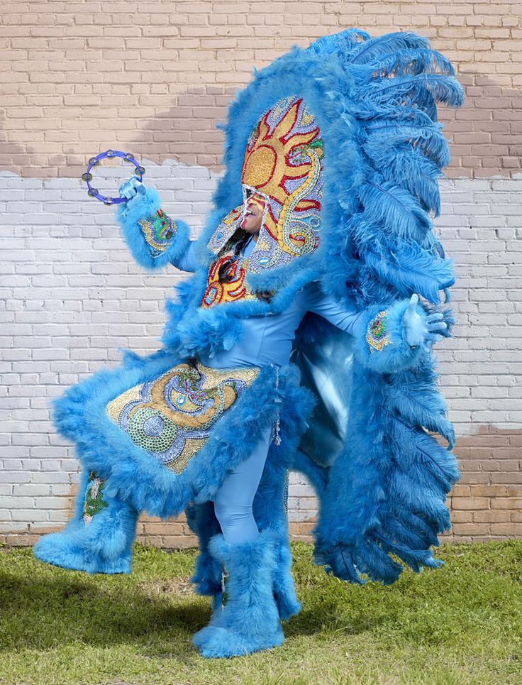 Mardi gras indians | Charles Fréger