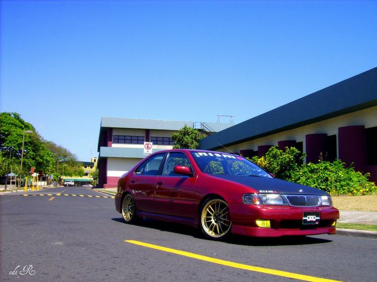 Nissan sentra b14 | Machine | Pinterest | Nissan and ...