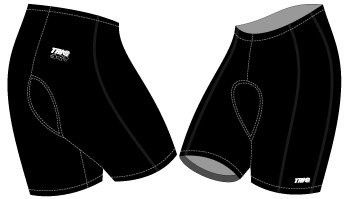TRI@ Unisex Triathlon Shorts - Black