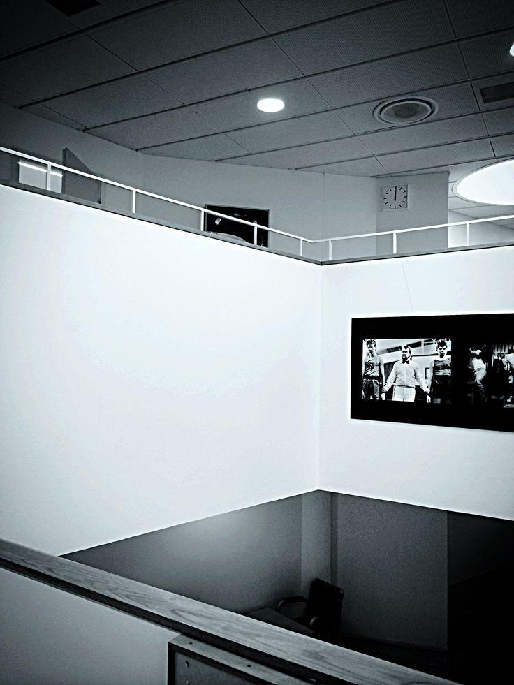 At the university. Alvar Aalto.