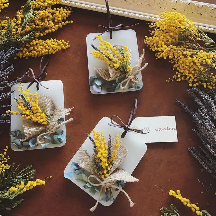 いいね!1,602件、コメント20件 ― 畑野ひろ子 モデル/フラワーライフスタイルプロデューサーさん(@hiroko_hatano_)のInstagramアカウント: 「3月8日 ミモザの日にちなんで。。。 #willgarden #flower #flowers #dryflower #candle #サシェ#life #lifestyle #sachet」