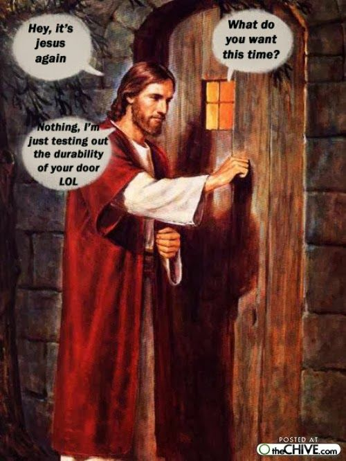 Jesus at your door  #Christianmemes #ChristianMemes #Christianmeme #Jesus