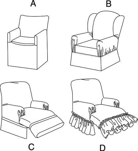 u2013 how to make a chair cover pattern wingback
