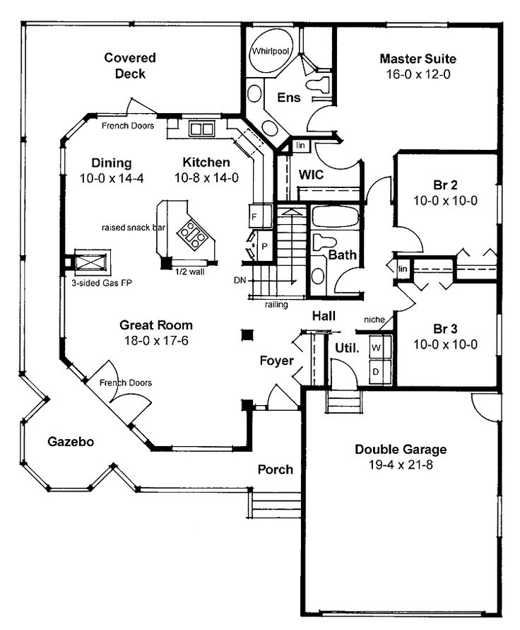 2 Story House Floor Plans With Basement 1397 best house plans images on pinterest | house floor plans