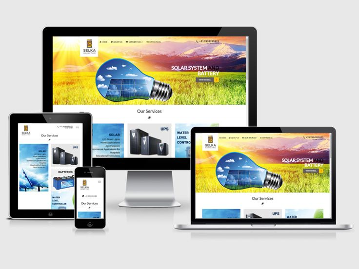 #123Coimbatore team designed a #website for Selka Marketing - leading dealers of all power services ==>> http://www.webdesign.123coimbatore.com/portfolio.php