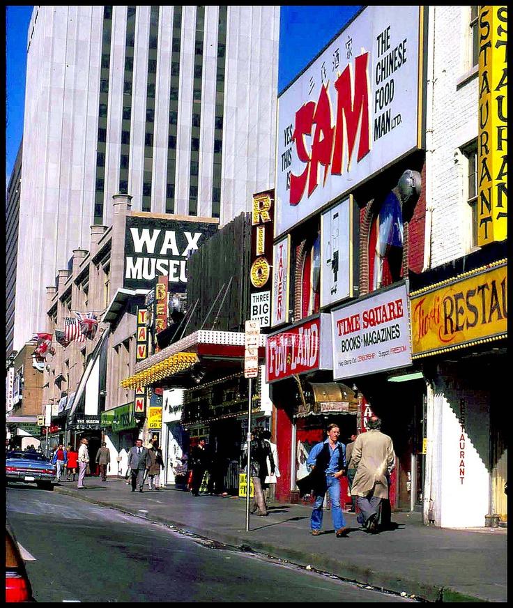 Yonge Street circa 1974.