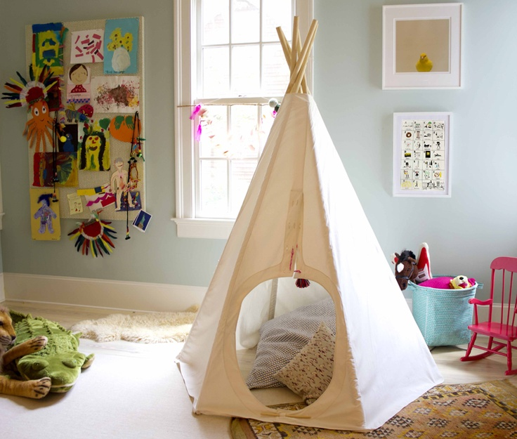 Why a tent, get a tepee!