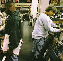 DJ Shadow: Endtroducing. Classic. Completely sample based, built on an MPC60. If you know anything about MPCs, or sample based music in general, you know that's crazy.