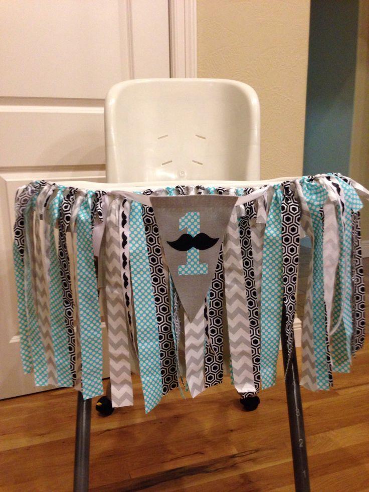 Mustache birthday banner, high chair banner, first birthday banner, first birthday party decoration, mustache birthday, first birthday by TooTooCuteBoutiq on Etsy https://www.etsy.com/listing/216390726/mustache-birthday-banner-high-chair