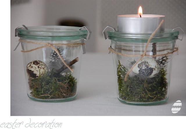 Weck jar decoration