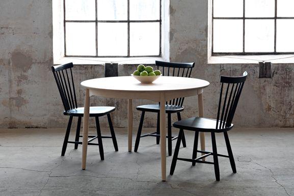 "Design by Carl Malmsten, Sweden. Chair ""Lilla Åland"" (1942)."