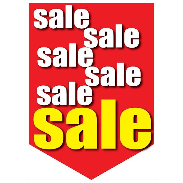 hanging sale poster design #sale posters