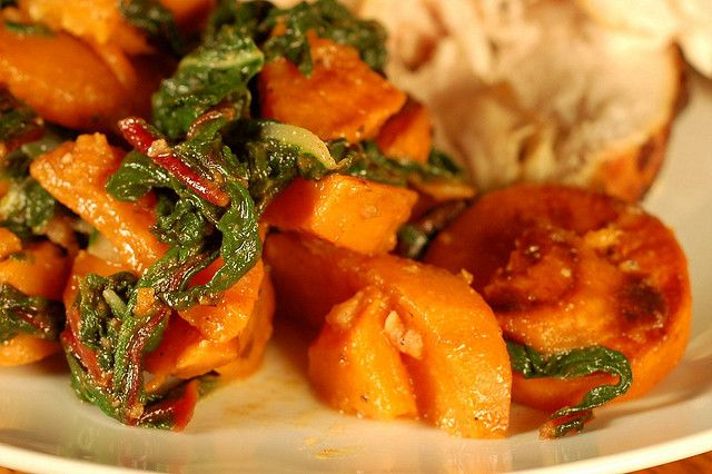Sweet Potatoes & Winter Greens by Eve Fox, Garden of Eating blog by Eve Fox, via Flickr