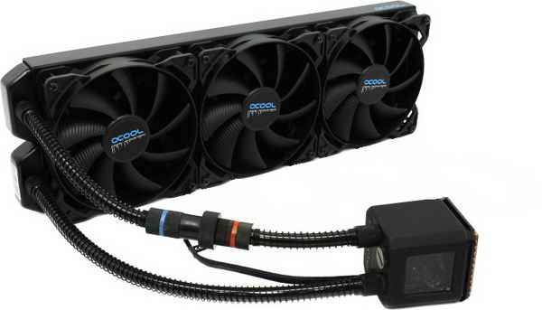 Alphacool Eisbaer 420 Cpu Liquid Cooler Review Cooler Reviews Pure Products Noise Levels