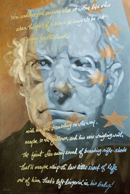 Sean O'Casey by Barrie Maguire on ArtClick.ie