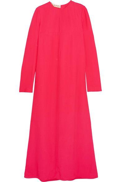 Marni - Ryon Crepe Maxi Dress - Pink - IT46
