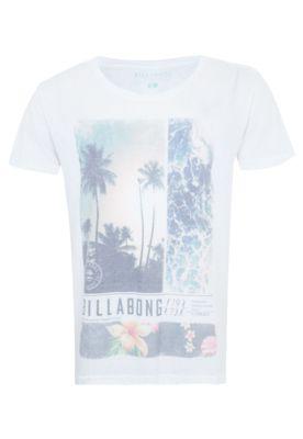 Camiseta Billabong Vista Branca