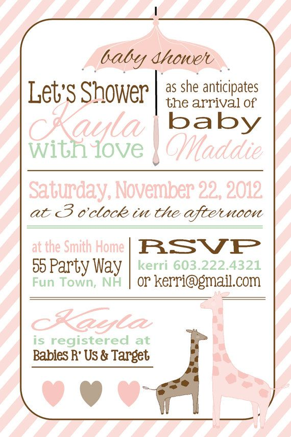 303 best images about baby shower invitations | printable baby, Baby shower invitations