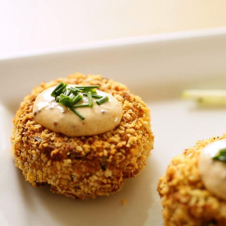 Beth S Crab Cake Recipe With Apple Slaw Recipe Air Fryer Recipes Easy Air Fryer Recipes Recipes