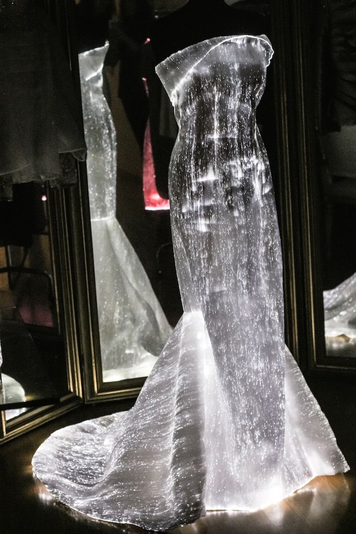 Glow in the Dark Dress! Now this is ethereal!