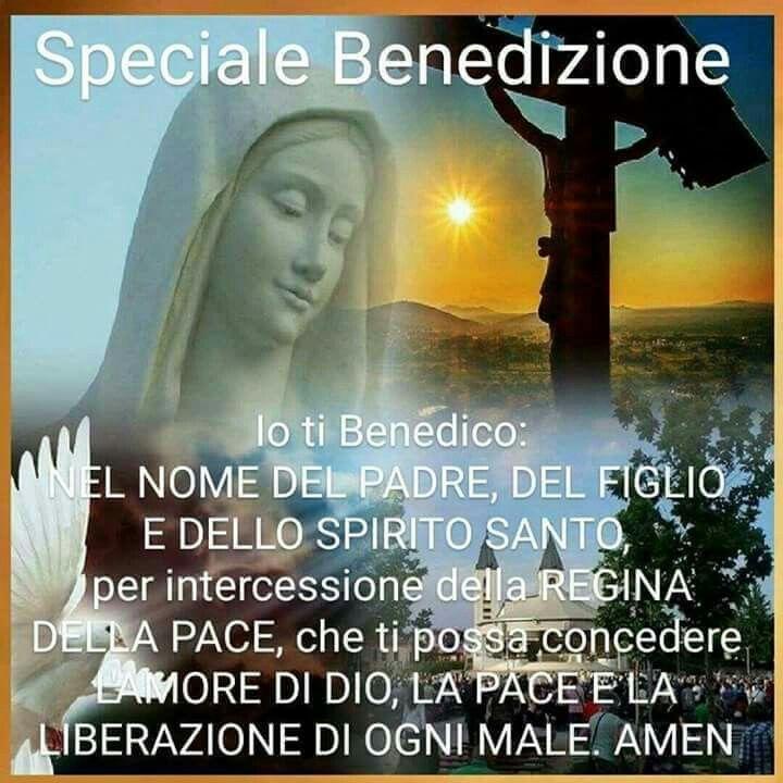 Speciale benedizione