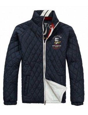 Nautica chaqueta de hombre guateada reversible | navy