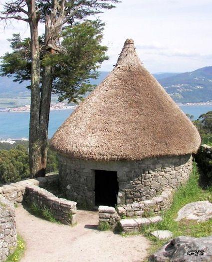 Castro celta de Santa Tecla, La Guardia, España - Celtic castro, Santa Tecla, La Guardia, Spain