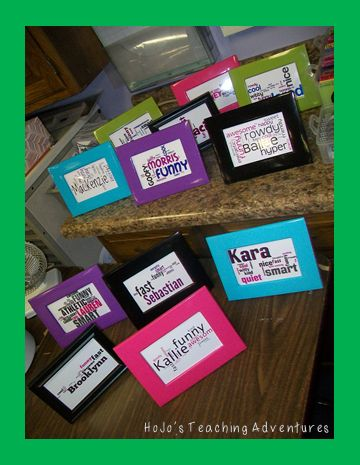 Are you looking for a great end of year school gift that your students can give to one another? Then you're going to love Wordles! Find out how you can DIY these pretty easily with very little expense by clicking through! Great for your 2nd, 3rd, 4th, 5th, 6th, 7th, 8th, 9th, 10th, 11th, or 12th grade students!