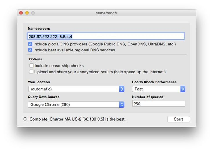 Speed Up Your Browser by Testing Your DNS Provider