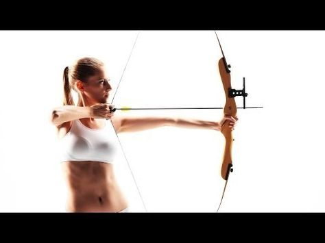 How to Exercise for Archery | Archery Lessons - YouTube