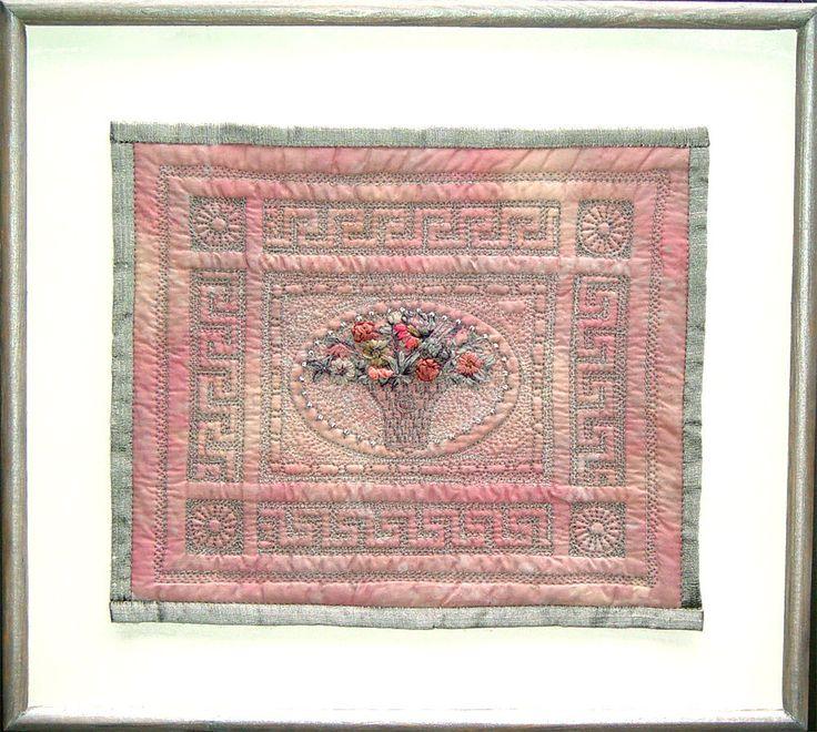 Bozena Wojtaszek - architectural detail, quilting, embroidery