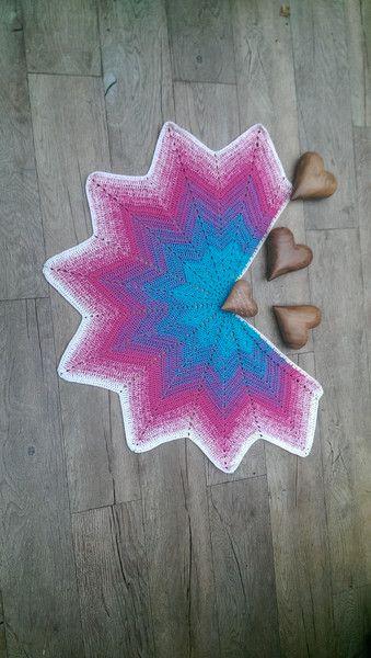 Schulter Cape für Damen und Mädchen von ........ ★☆★☆★ ... Elfen Zipfel ღ Strickwerk ... ★☆★☆★ .......     ....  -`ღღ´-  .. knittingdesign by Jolanta-H. Ahlers .. -`ღღ´-  .... auf DaWanda.com