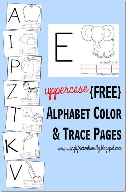 free printable alphabet worksheets for toddler preschool and kindergarten these are great for