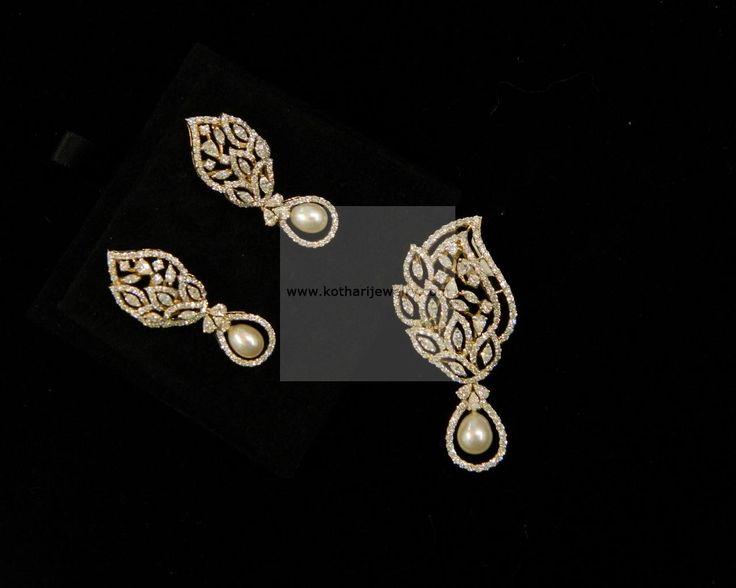 Pendant Sets - Diamond Jewelry Pendant Sets (DJPAM0119) at USD 4,597.09 And GBP 3,126.49