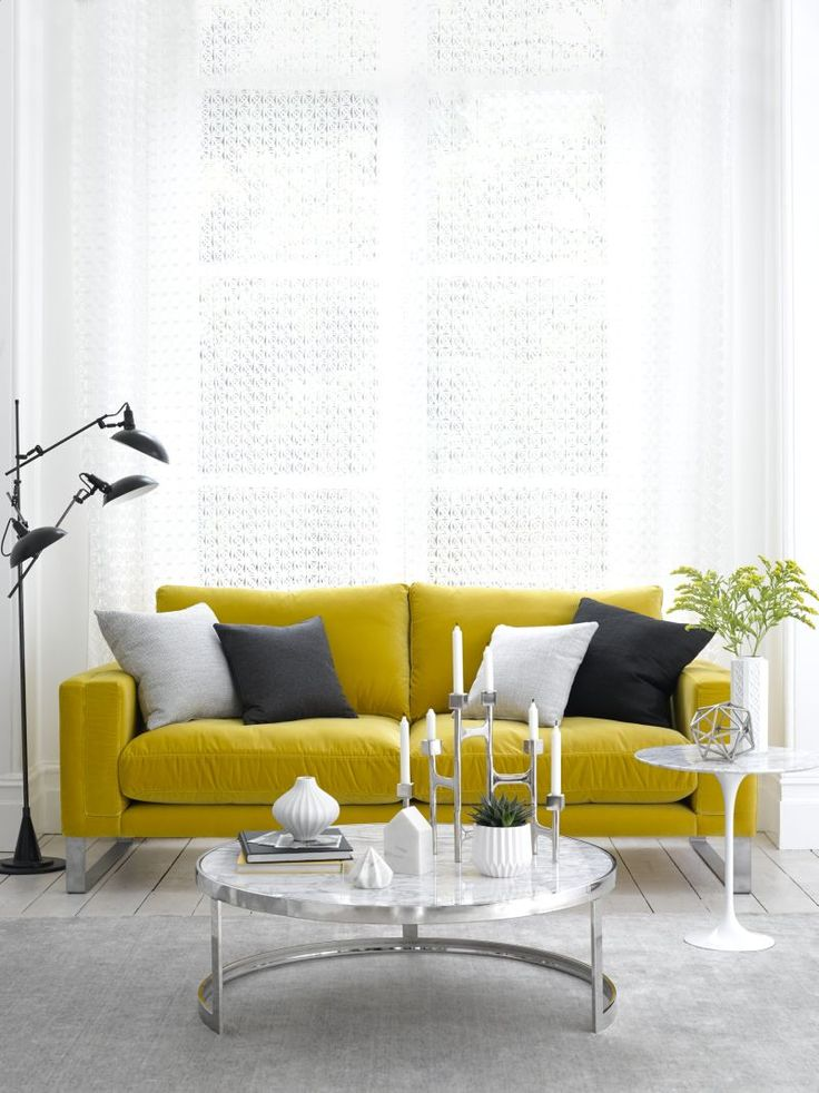 sofa.com Costello two and a half seat sofa in Canary