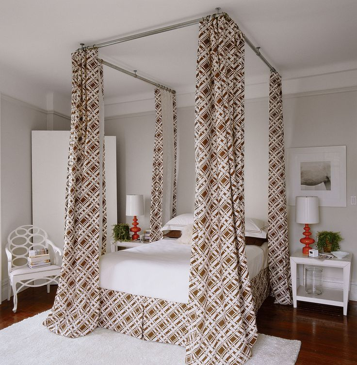 Make Your Bedroom A Romantic Haven Part 3: 25+ Best Ideas About Faux Canopy Bed On Pinterest