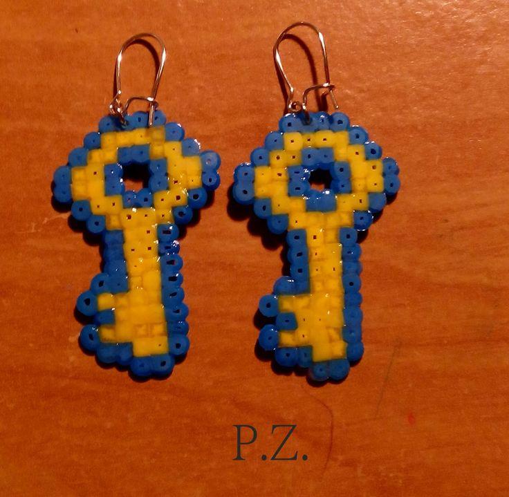mini Hama Perlen von Pia selbst gesteckt
