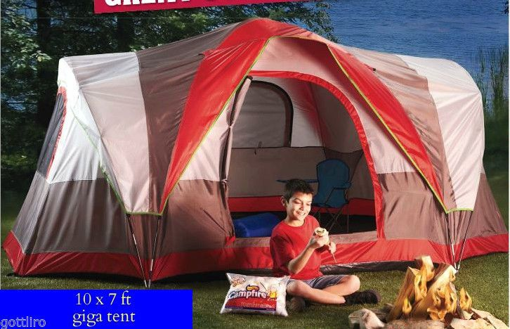 Eagle Peak 5 10 x 7 ft - 5 Person Tent Gigatent - Giga tent for Camping - $79.00