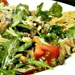 Florentijnse pastasalade met kip @ allrecipes.nl